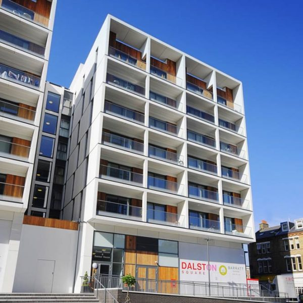 Grade 18 GRC, Dalston Square, London