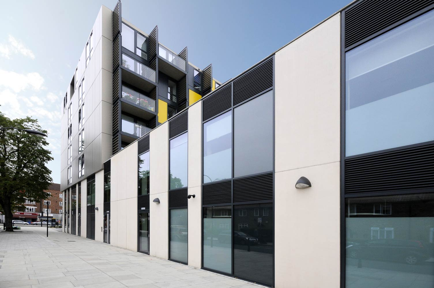 Grc Cladding Panel : White city london gb architectural cladding products ltd
